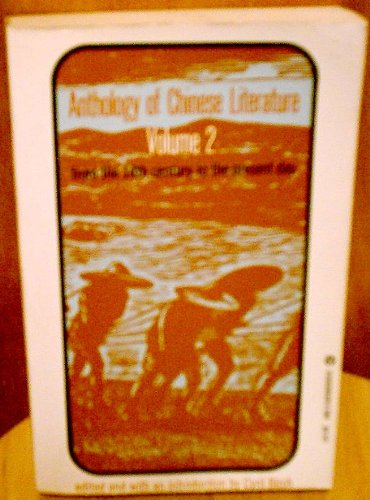 Anthology of Chinese literature, (UNESCO collection of representative works:): Cyril Birch