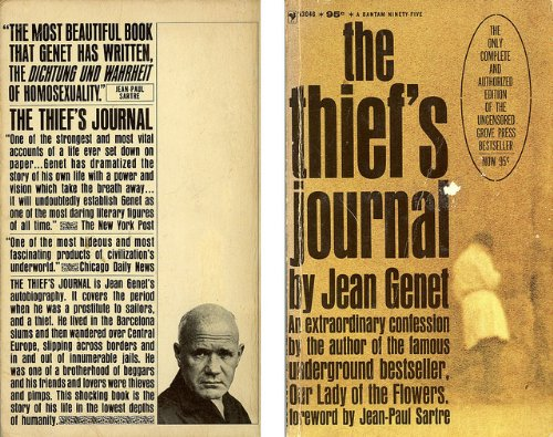 9780394178110: The Thief's Journal