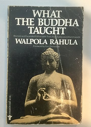 9780394178271: What the Buddha Taught