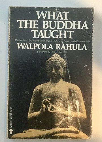 What the Buddha Taught: Walpola Rahula