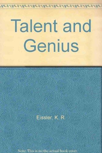9780394178783: Talent and Genius