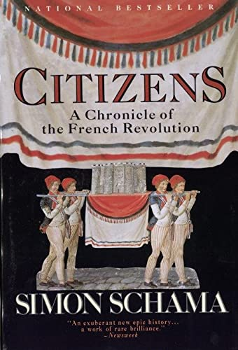 9780394221458: Citizens: A Chronicle of the French Revolution