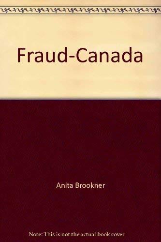9780394222721: Fraud-Canada by Anita Brookner