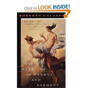 9780394227368: The Marriage of Cadmus and Harmony