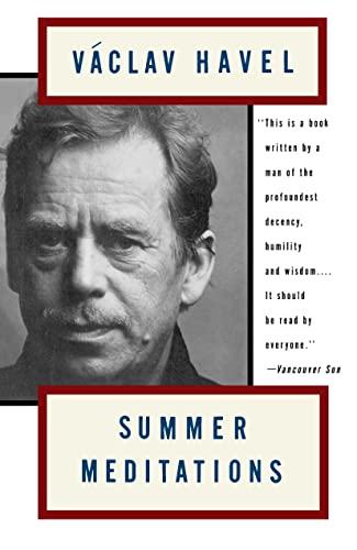 9780394280080: [( Summer Meditations )] [by: V aclav Havel] [Jun-1993]