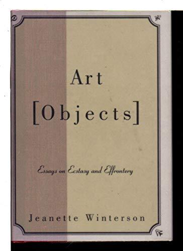 9780394281339: Art Objects : Essays On Ecstasy