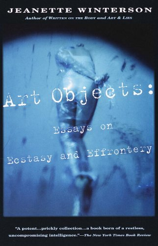 9780394281704: Art Objects : Essays on Ecstasy and Effrontery