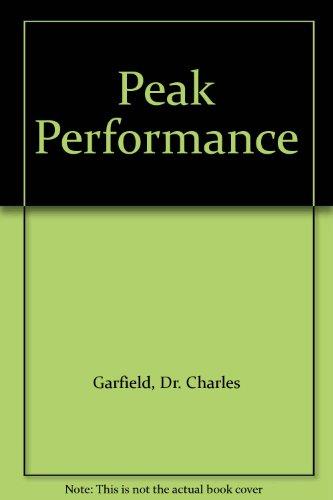 9780394298139: Peak Performance