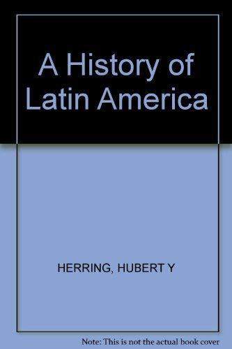 9780394302478: History of Latin America