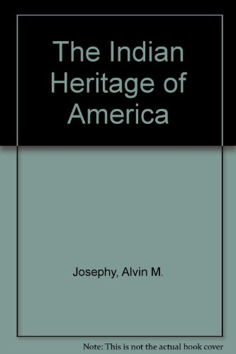 9780394303154: The Indian Heritage of America