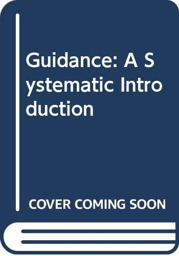 Guidance: a systematic introduction: Nordberg, Robert B.