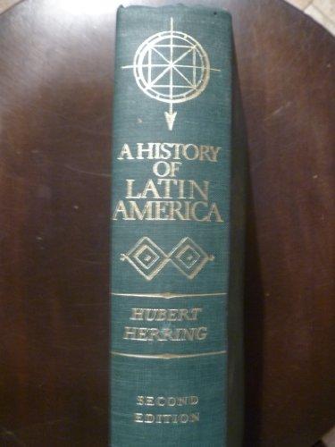 9780394305943: History of Latin America