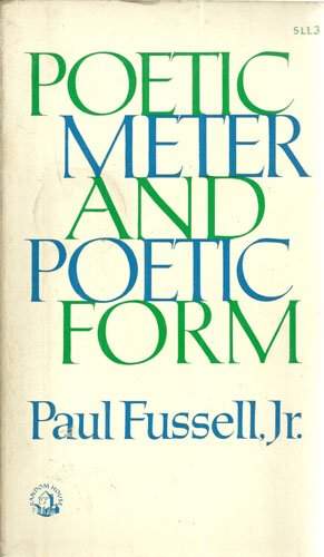 9780394306230: Poetic Meter and Poetic Form