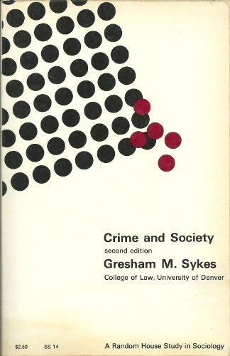9780394307541: Crime and Society