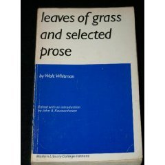 9780394309408: Leaves of Grass and Selected Prose