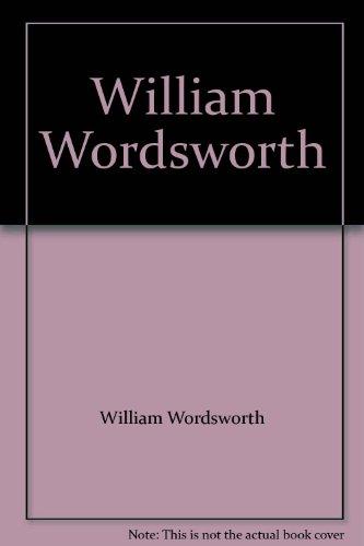 9780394309415: William Wordsworth