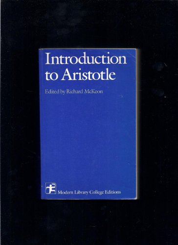 9780394309736: Introduction to Aristotle