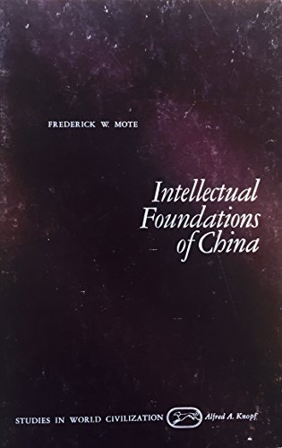 9780394310428: Title: Intellectual Foundations of China Studies in World