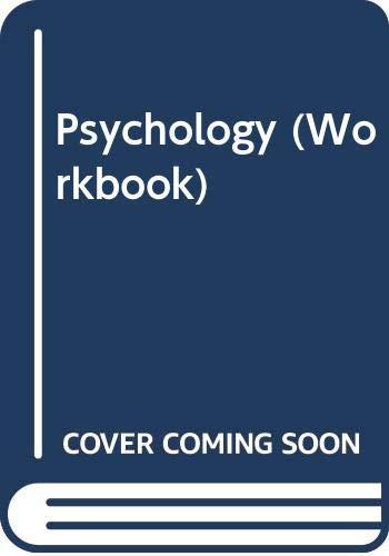 Psychology : A Basic Course: Richard Crutchfield; David