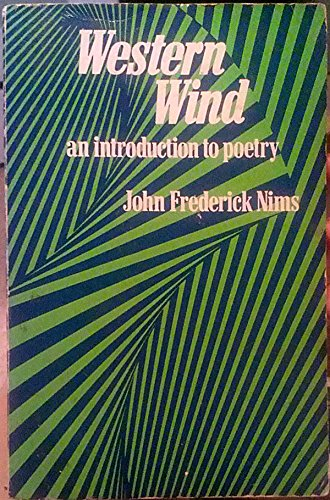 9780394312316: Western wind;: An introduction to poetry