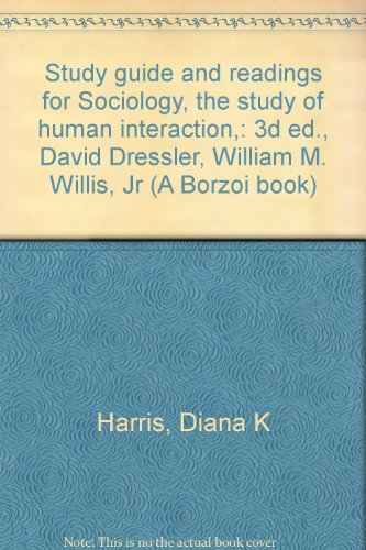 Study guide and readings for Sociology, the: Harris, Diana K
