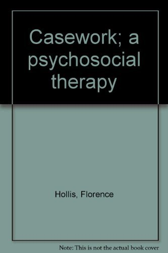 9780394313795: Casework; a psychosocial therapy