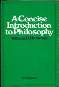 9780394316673: A concise introduction to philosophy