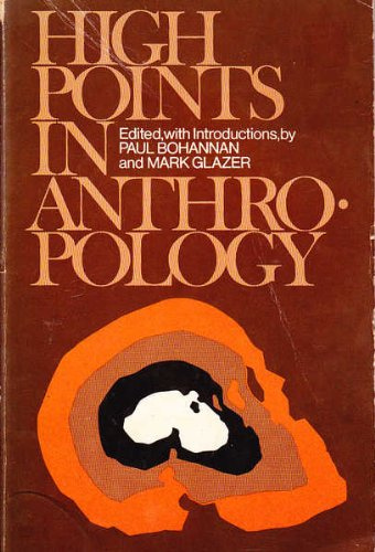9780394316727: High points in anthropology