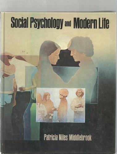 9780394317267: Social psychology and modern life