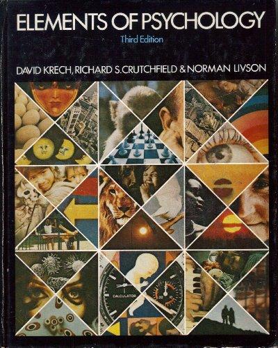 Elements of Psychology: David Krech; Richard