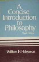9780394319858: A concise introduction to philosophy