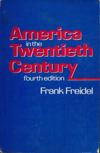 9780394319957: America in the Twentieth Century