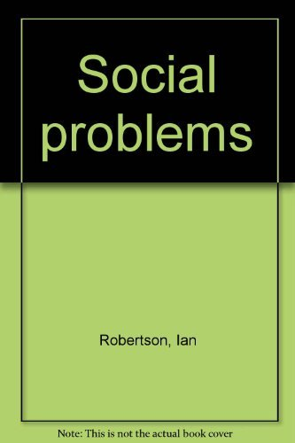 Social Problems: Michael McKee; Ian