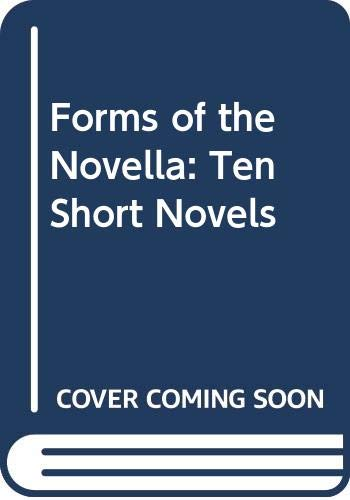 Forms of the Novella: Ten Short Novels (0394320301) by Richter, David H.