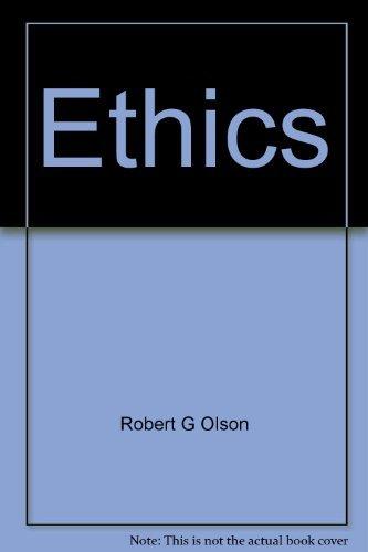 9780394320335: Ethics: A short introduction