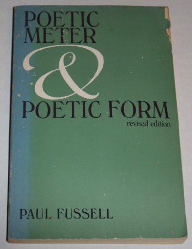 9780394321202: Poetic Meter & Poetic Form