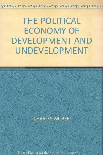 9780394322308: The political economy of development and underdevelopment