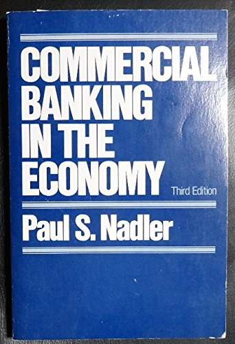 9780394322711: Commercial banking in the economy