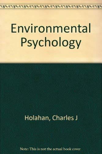9780394323206: Environmental Psychology