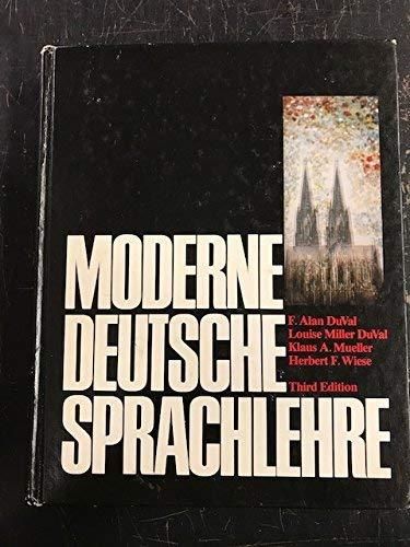 Moderne deutsche Sprachlehre: DuVal, F. Alan;
