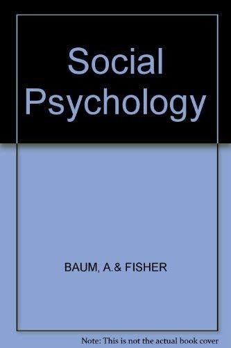 9780394324050: Social Psychology