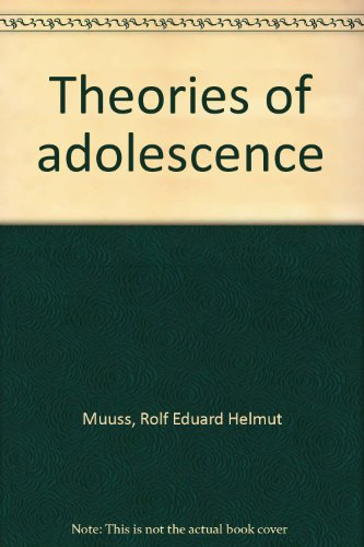 9780394324241: Theories of adolescence