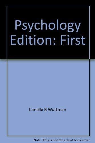 9780394324289: Psychology