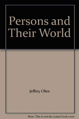 9780394325453: Persons and Their World