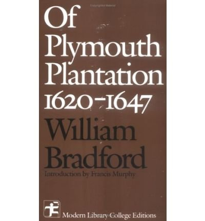 9780394326023: Of Plymouth Plantation, 1620-1647 (Modern Library college editions)