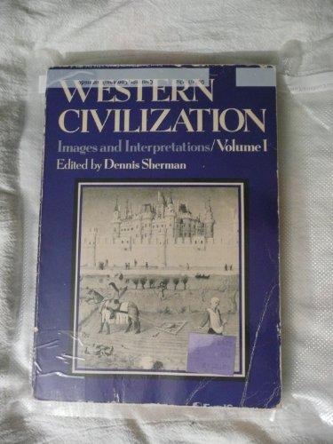 9780394326597: Western civilization, images and interpretations