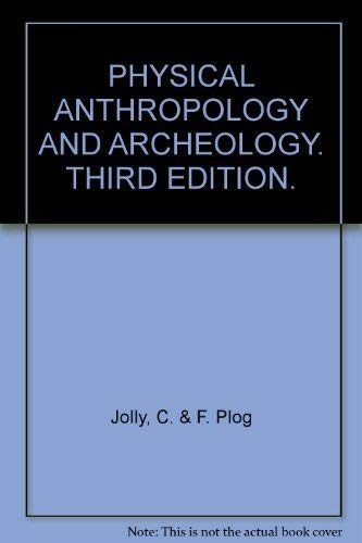 9780394326726: Physical anthropology and archeology