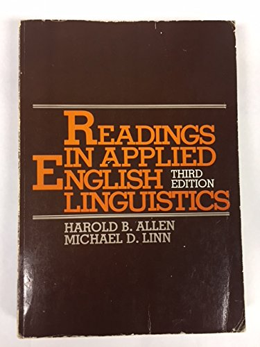 9780394327501: Readings in Applied English Linguistics
