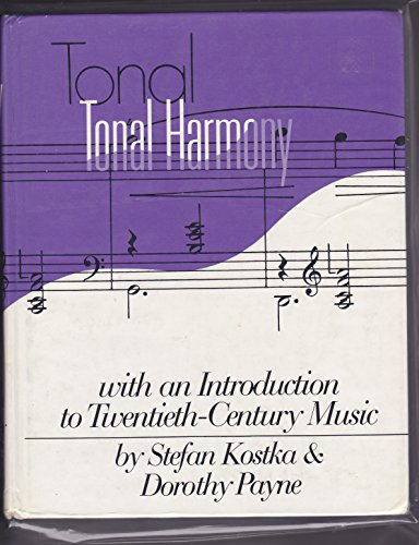 9780078025143 tonal harmony abebooks stefan kostka dorothy 9780394328300 total harmony with an introduction to twentieth century music fandeluxe Choice Image