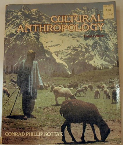 9780394328669: Cultural anthropology